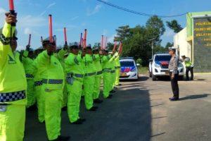 Polres Mesuji Lampung  Siap Gelar Operasi  Ketupat  Krakatau 2019.