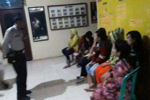 7 Wanita PSK dan 2 Preman Diamankan Polsek Rawajitu Selatan