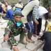 Serka Tri Wilopo Ajak Warga Desa Muara Tenang Timur Mesuji Hidupkan Budaya Gotong Royong