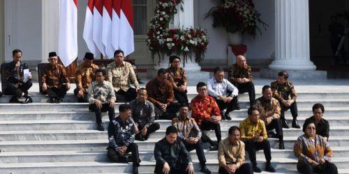 Inilah Menteri Kabinet Indonesia Maju 2019-2024
