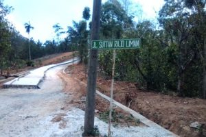 """Proyek Siluman"" Pembangunan Jalan Rigid Beton di Desa Sukamaju Pesawaran"