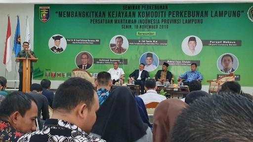 Seminar PWI Membangkitkan Kejayaan Komoditi  Perkebunan