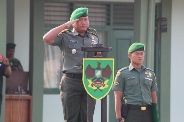 Kodim 0426 Tuba Pertajam Kemampuan Prajurit TNI-AD Binter Danramil dan Babinsa