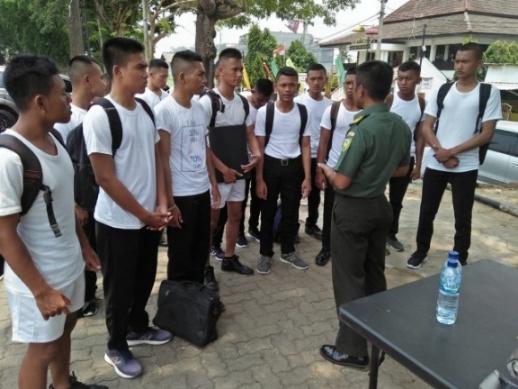 Kodim 0426 Tuba, 30 Putra Terbaik Tulangbawang dan Mesuji Terjaring Masuk Prajurit TNI-AD