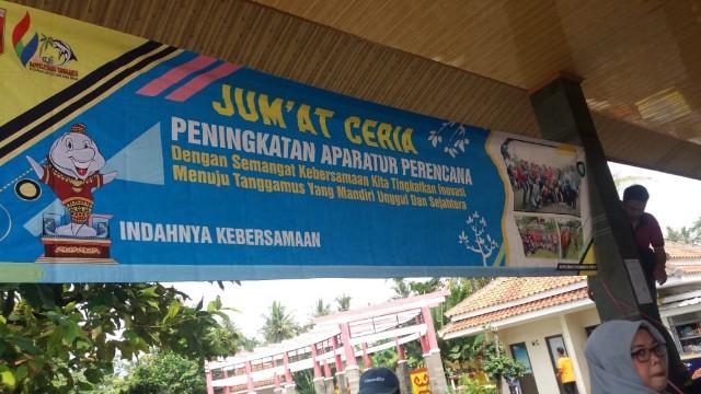 Jum'at Ceria, Bappelitbang Tanggamus Gelar Lomba