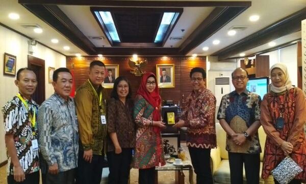 Bupati Tanggamus Dewi Handajani Kunjungan Kerja ke Kementerian Desa