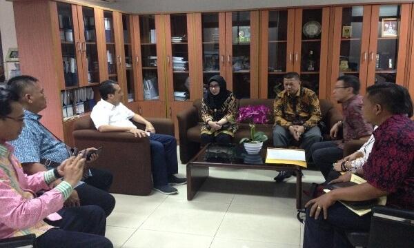 Bupati Tanggamus Kunjungan Kerja ke Kementerian PUPR
