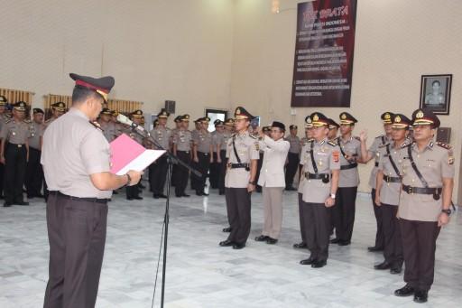 Serah Terima  Jabatan Kapolres Lampung Utara