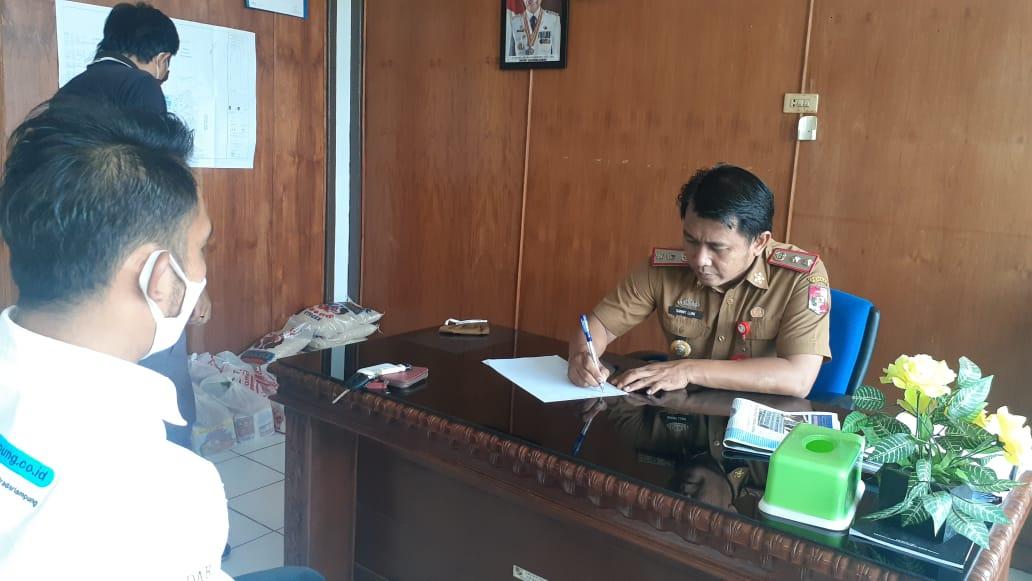 Karyawan Bank Lampung Cabang Kotabumi Jalani Rapid Test