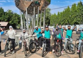 Gowes Sepeda Santai ala Pegawai Pengadilan Negeri Kotabumi