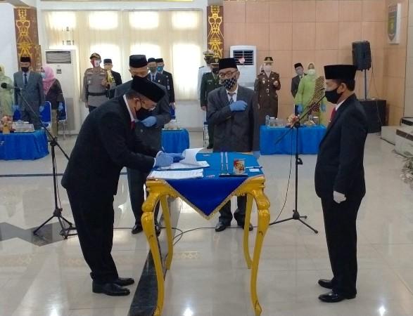 H. Lekok M.M. Resmi Jabat Sekdakab Lampung Utara