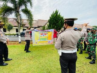 Gabungan TNI Polri Amankan Aksi Damai Aliansi Masyarakat Lampung Utara Bergerak