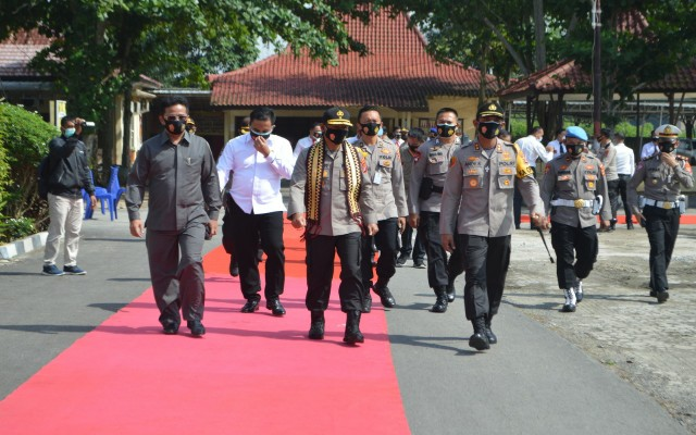 Wakapolda Lampung Kunker di Polres Tulang Bawang