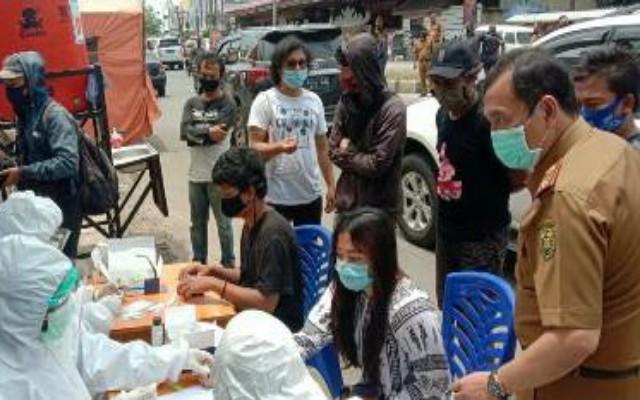 Mulai Hari Senin 26 Oktober, Pendatang Masuk Bandar Lampung Wajib Rapid Tes