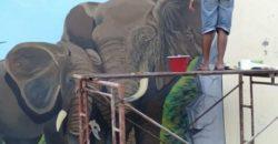 Warga Binaan Lapas Kotabumi Raih Prestasi di Mural Competition
