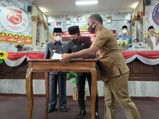 DPRD Lampung Utara Gelar Paripurna Bahas APBD 2021
