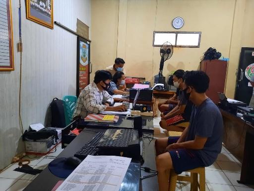 Tiga Penyalahguna Narkoba Diringkus Satres Narkoba Polres Lampung Utara