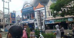 Pasca Kebakaran Kantor Bank Lampung KCP Kota Agung Uang Dalam Brankas Aman