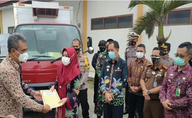 Kabupaten Tanggamus Terima 3.320 Dosis Vaksin Sinovac