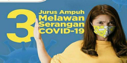 Masyarakat dan Pemerintah Bersama Tekan Penularan COVID-19 Lewat Protokol Kesehatan