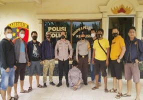 Buron Setahun MN Akhirnya Ditangkap Polisi Polsek Banjar Agung