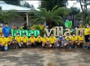 Ketua P3VC  Resmikan Taman Villa Mas Komplek Perumahan Villa Citra