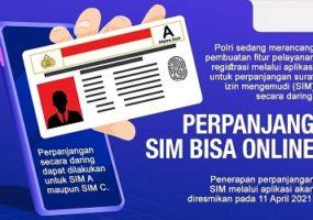 Perpanjang dan Bikin SIM Kini Bisa Online dari HP!