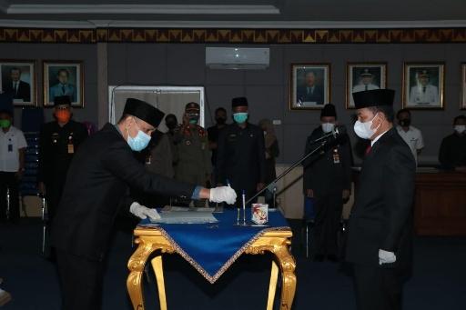 3 Pejabat Eselon II Dilantik Bupati Lampung Utara