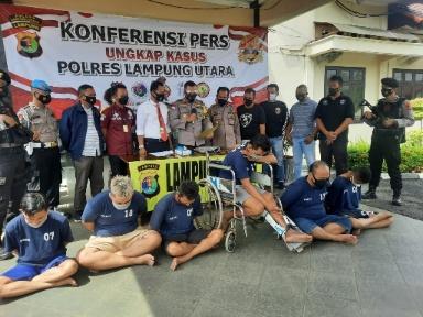 3 Didor, Polres Lampung Utara Ringkus Penjahat Lintas Provinsi