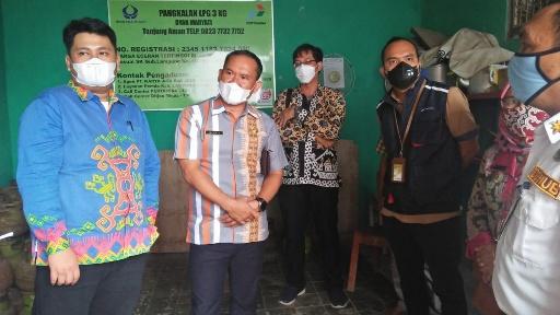 Sidak Gas Melon, Disdag Lampung Utara Nyatakan Harga Masih Stabil