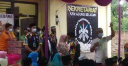 LSM GMBI Abung Selatan Gelar Buka Bersama dan Santuni Anak Yatim serta Orangtua Jompo