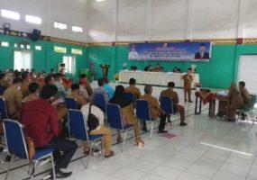 Sosialisasi Perbup Soal Pilkades Serentak di Lampung Utara