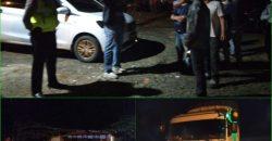 Polres Lampung Utara Bubarkan Aksi Warga Sweeping Truk Batubara di Jalan Lintas Tengah Sumatera