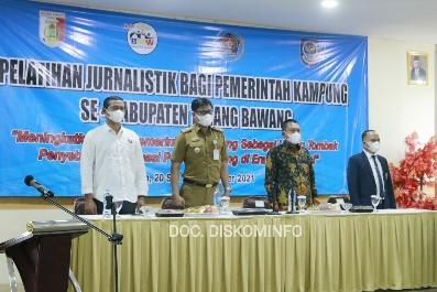 PWI Bersama APDESI Tulang Bawang Selenggarakan Pelatihan Jurnalistik Pemerintah Kampung