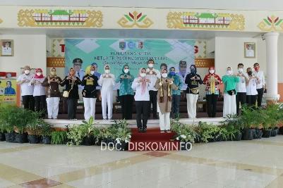 Bupati Tulang Bawang Menyambut Kunjungan Kerja TP PKK Provinsi Lampung