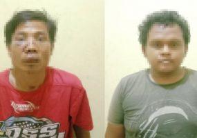 Dua Pencuri Ditangkap Aparat Polsek Dente Teladas