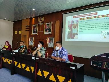 Pemprov Lampung Melalui Balitbangda, Evaluasi Capaian Indeks Inovasi Daerah