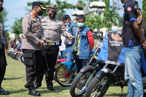 Terobosan Sat Lantas Polres Lampung Utara, Bentuk Pokdar Kamseltibcar Lantas